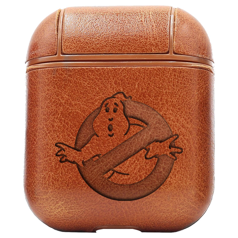 Bao Da Cover Apple Airpods 1 / 2 Premium  Khắc Hình Hoạt Hình Ghostbusters