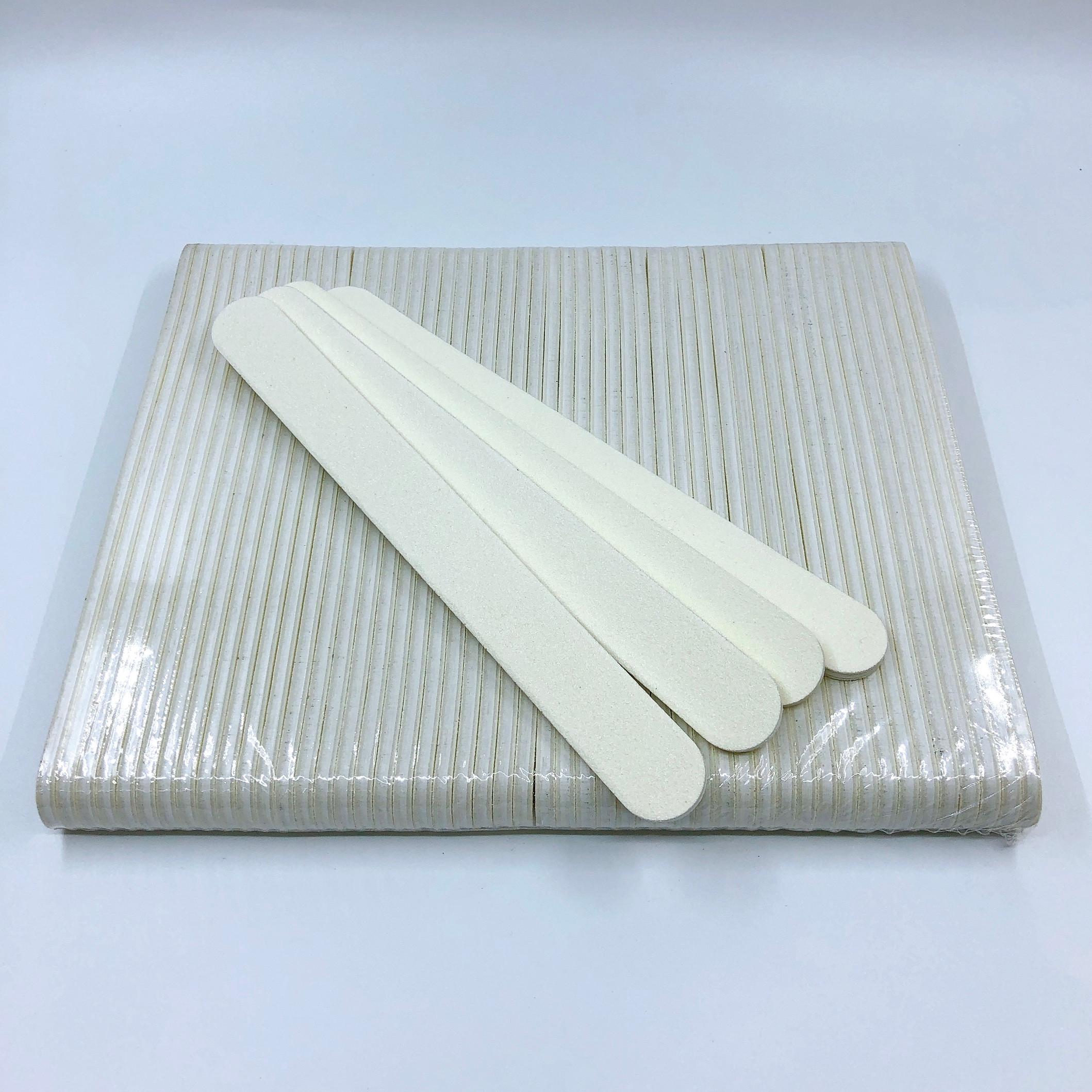 Set 5 dũa móng tay trắng - độ nhám 100/100