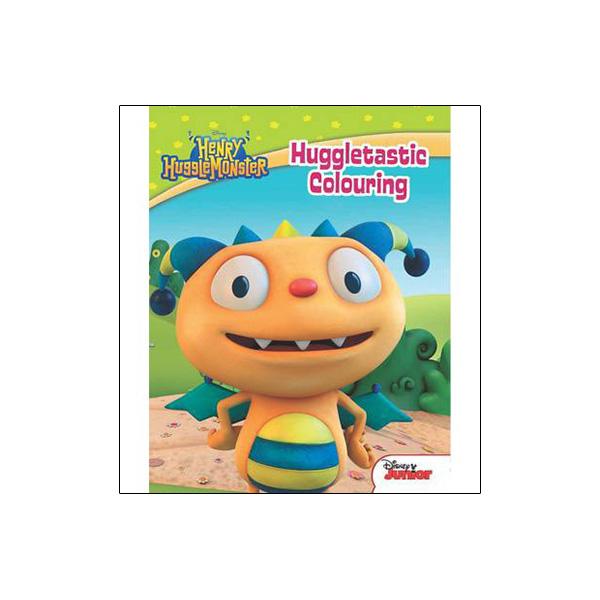 Disney Junior Henry Hugglemonster Huggletastic Colouring
