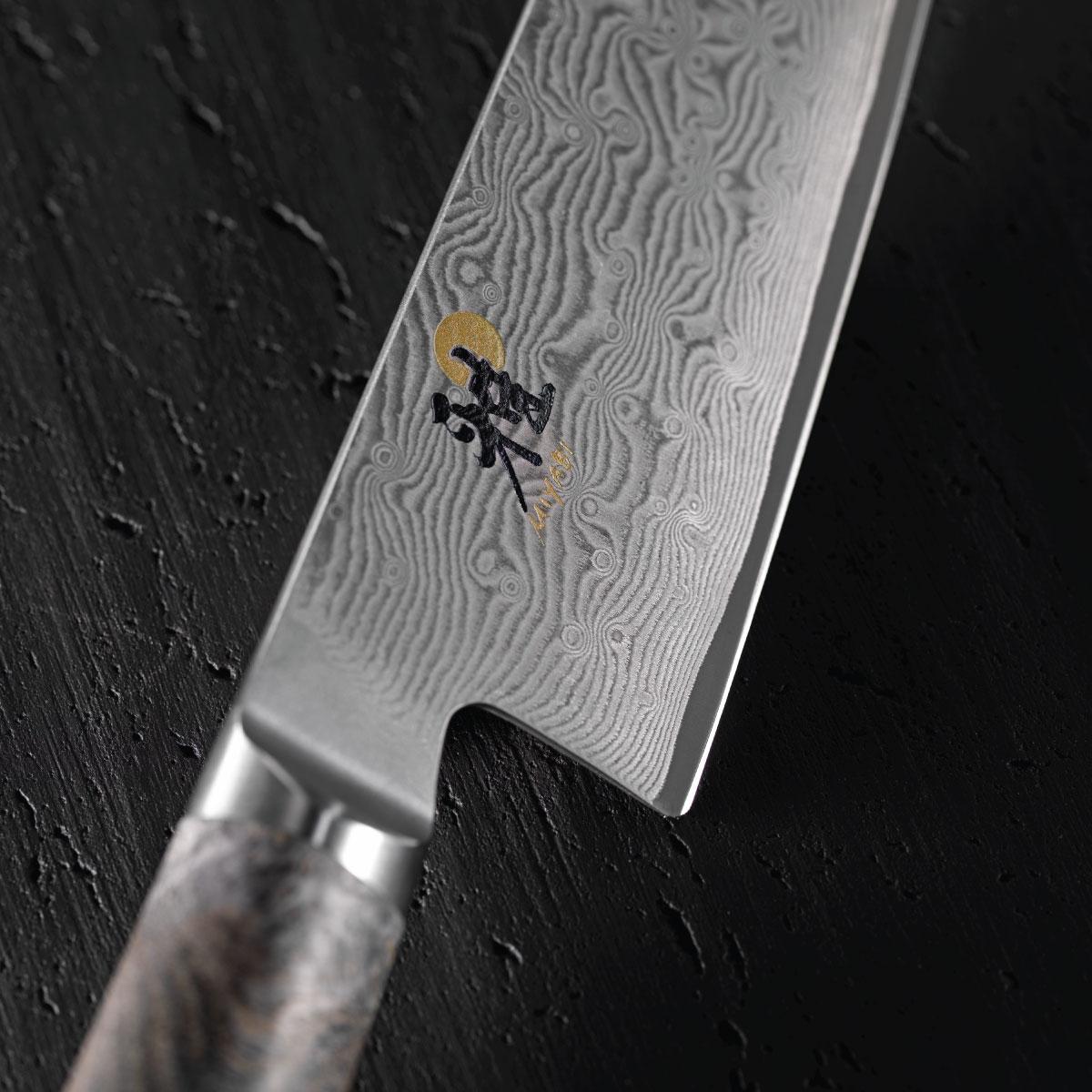 Dao Chef 5000MCD 67 Miyabi 15cm là dòng dao đặc biệt nhất với thiết kế sang trọng xen lẫn sự cổ điển