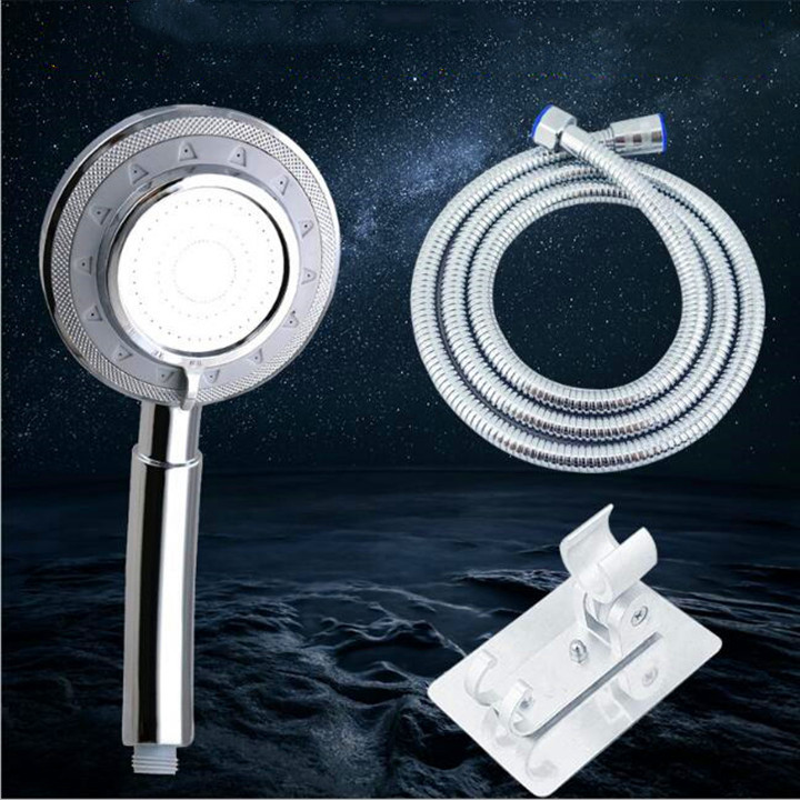 Bộ vòi hoa sen tăng áp 3 chế độ nước 1 vòi sen + 1 dây cấp nước vòi sen + 1 đế cài vòi sen