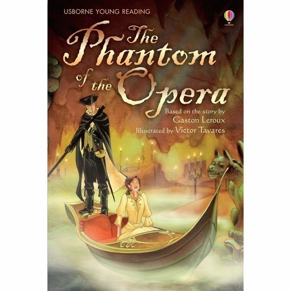 Usborne Young Reading Series Two: The Phantom of the Opera