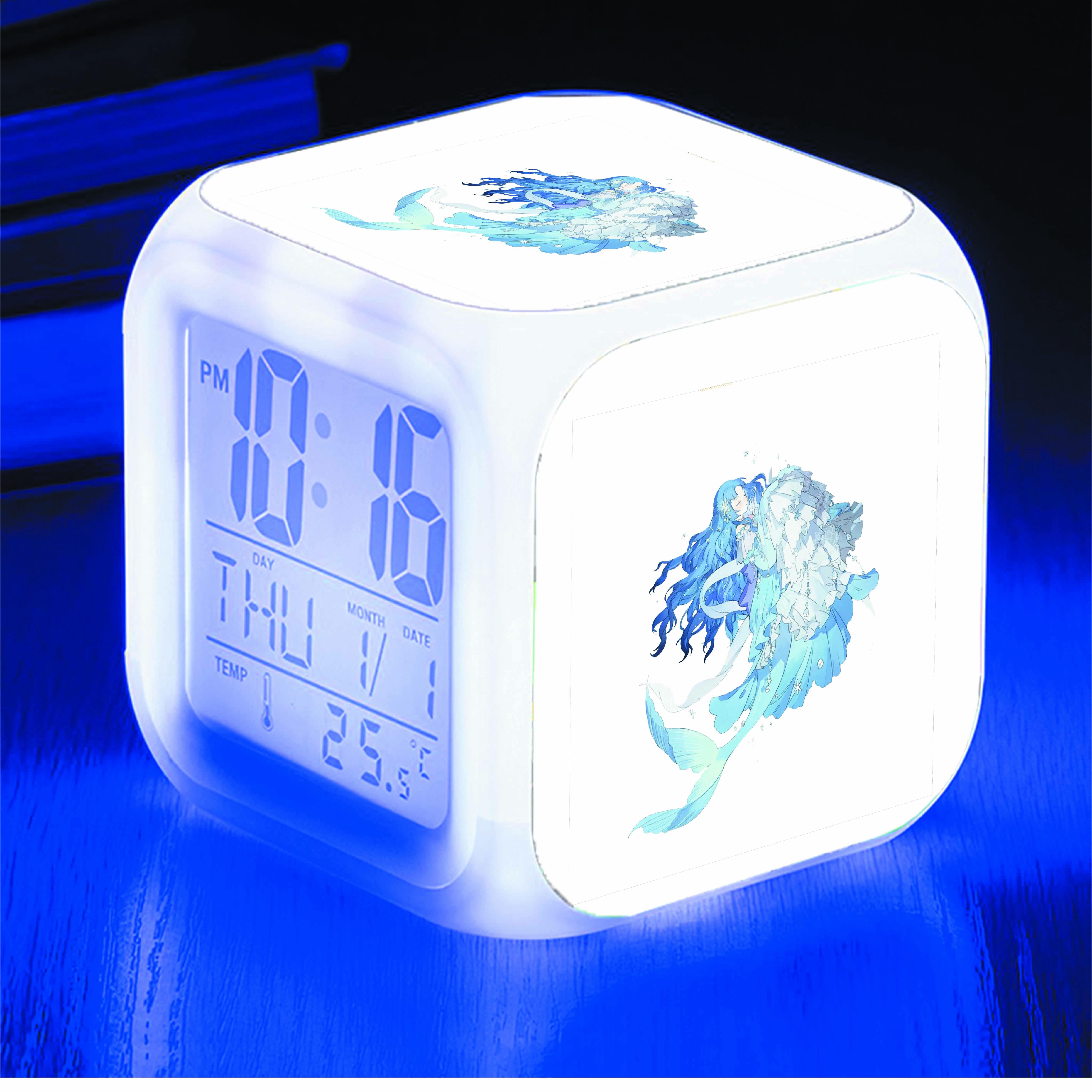Đồng hồ báo thức để bàn IN HÌNH game Ngôi Sao Thời Trang
