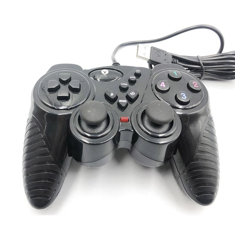 Tay cầm chơi game đơn rung V909