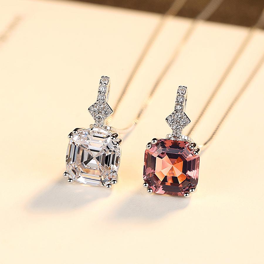 Dây Chuyền Nữ Đính Đá Cao Cấp Bạc Ý DB2391 Bảo Ngọc Jewelry