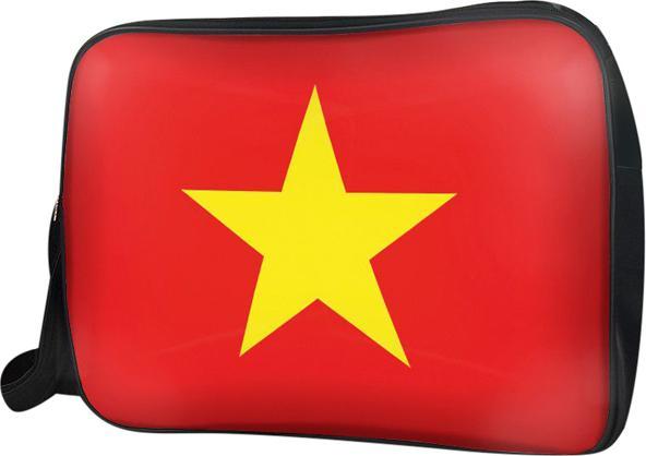 Túi Đeo Chéo Hộp Unisex Cờ Việt Nam - Tcvn006 34 x 9 x 25 cm