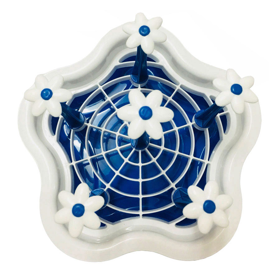 Khay Úp Ly Nhựa 6 Nhánh Hình Hoa Tiện Dụng