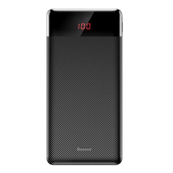 Pin sạc dự phòng 10000mAh trang bị màn hình LED hiệu Baseus Mini Cu Digital Display LV316 cho Smartphone/ Tablet hỗ trợ sạc nhanh (10,000mAh, 2 Port USB, LCD Display) - Hàng chính hãng