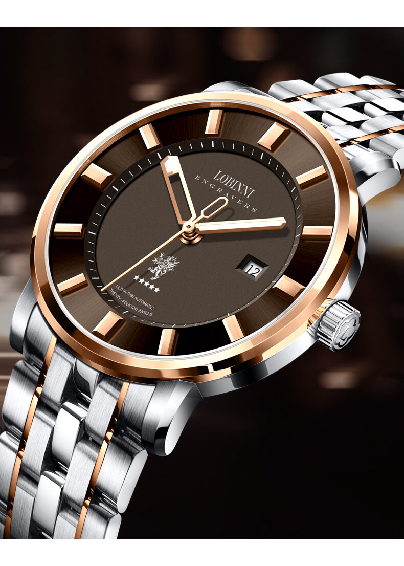 Đồng hồ nam chính hãng Lobinni No.5001
