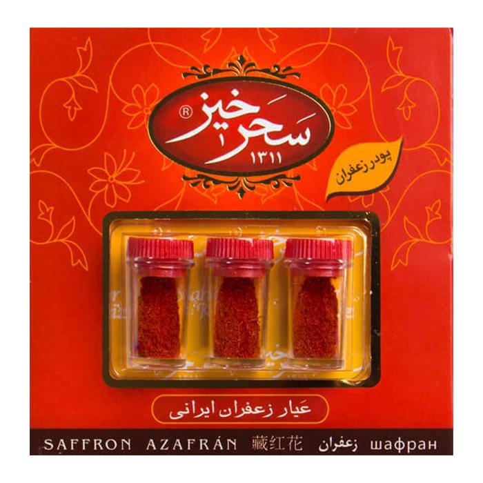 Bột Saffron Saharkhiz Gazelle (1.5g) - Tặng Bình Nước