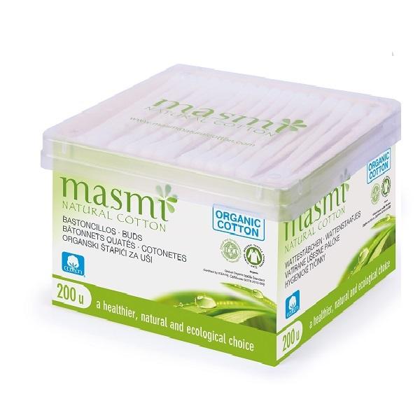 Bông ngoáy tai hữu cơ Masmi