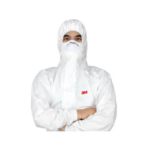 Bộ Quần Áo Bảo Hộ Chống Hóa Chất 3M 4545 dùng phun sơn, phun thuốc trừ sâu, chống tĩnh điện, chống virus, chống bụi công nghiệp độc hại, hợp với cả nam và nữ