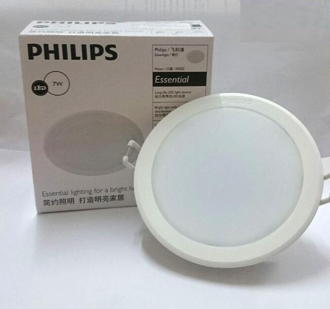 Combo 6 Bóng Đèn Downlight Âm Trần Philips 59202 Meson 7W 6500K 6C-915005363101
