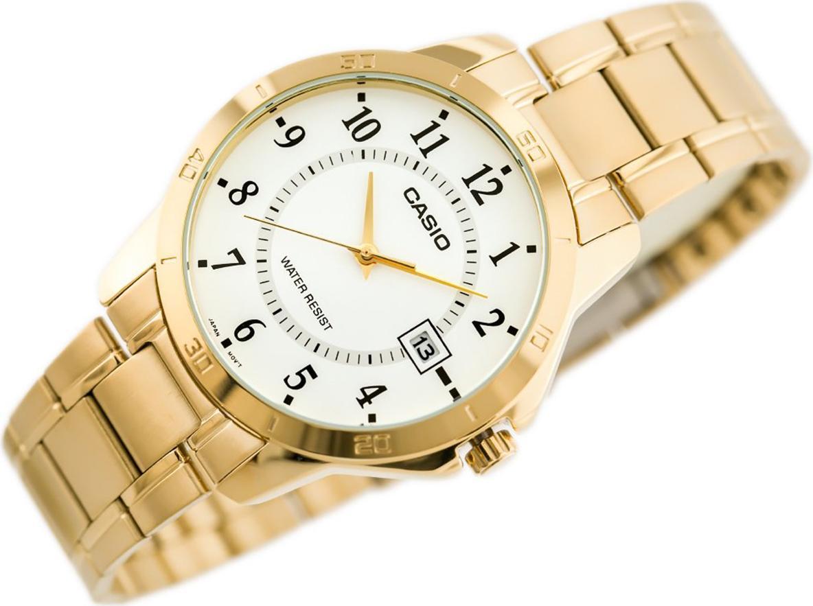 Đồng hồ nam dây kim loại Casio MTP-V004G-7BUDF
