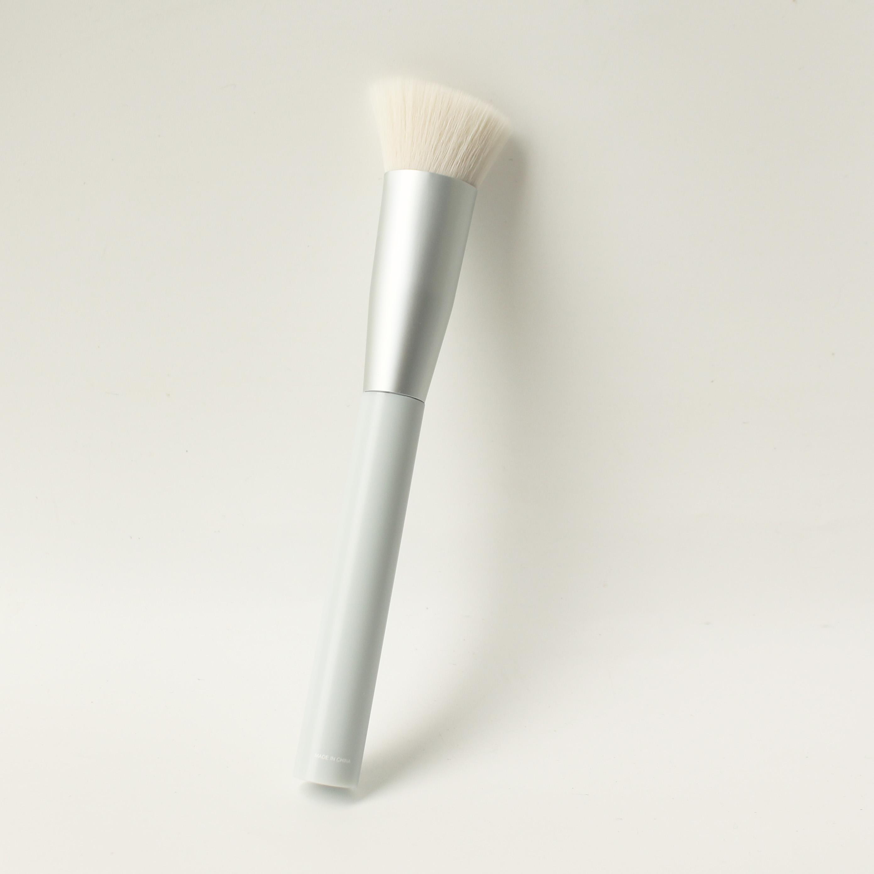 Cọ tạo khối Nhật Bản đầu vát phẳng Miniso Macaroon Series-Contour Brush chính hãng chuyên nghiệp ( màu xanh cẩm thạch ) - MNS089