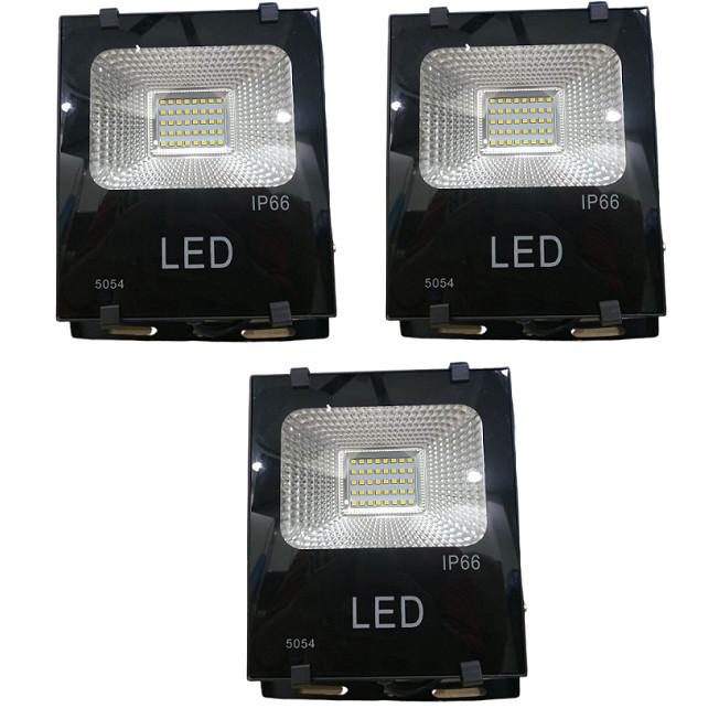 Bộ 3 đèn Led pha chíp dán 20W