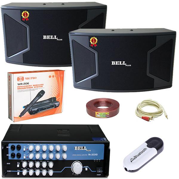 Bộ dàn karaoke PA - 303XG BellPlus (hàng chính hãng)