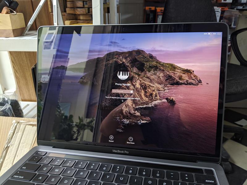 """Dán màn hình MacBook Pro 13""""/Air 2020 MOCOLL Premium film - Hàng Nhập Khẩu"""