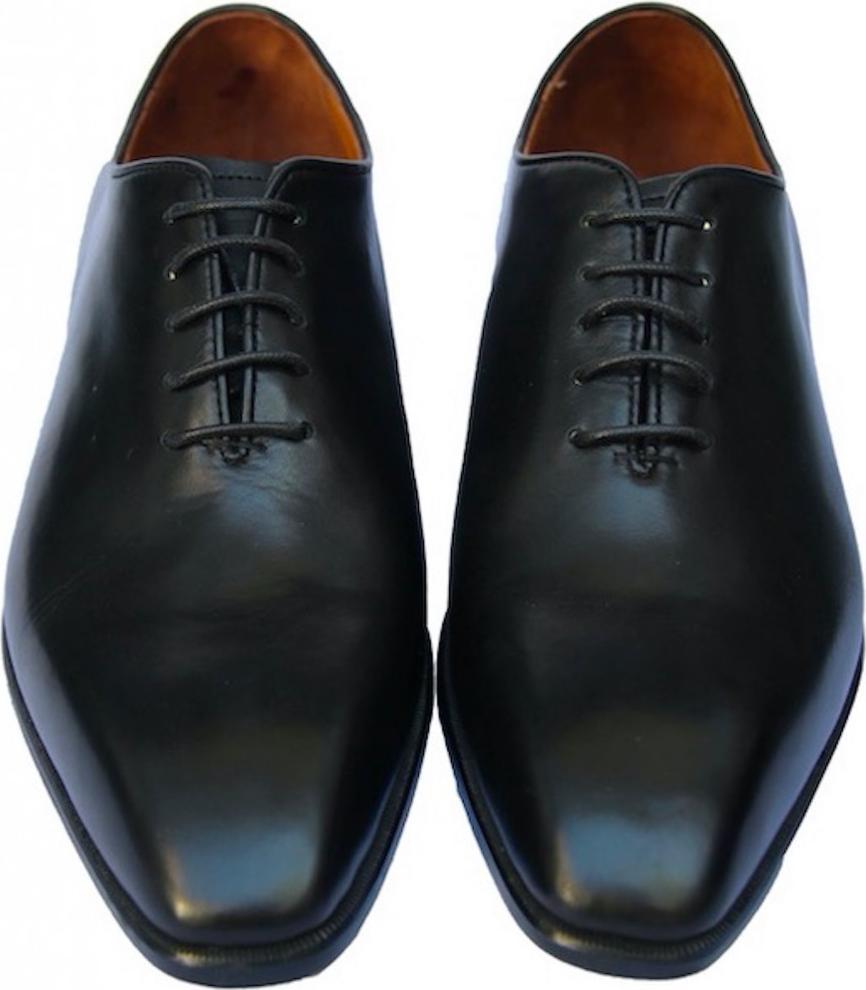 Giày tây nam da bò đế da GMN8493 màu đen - đen - 43