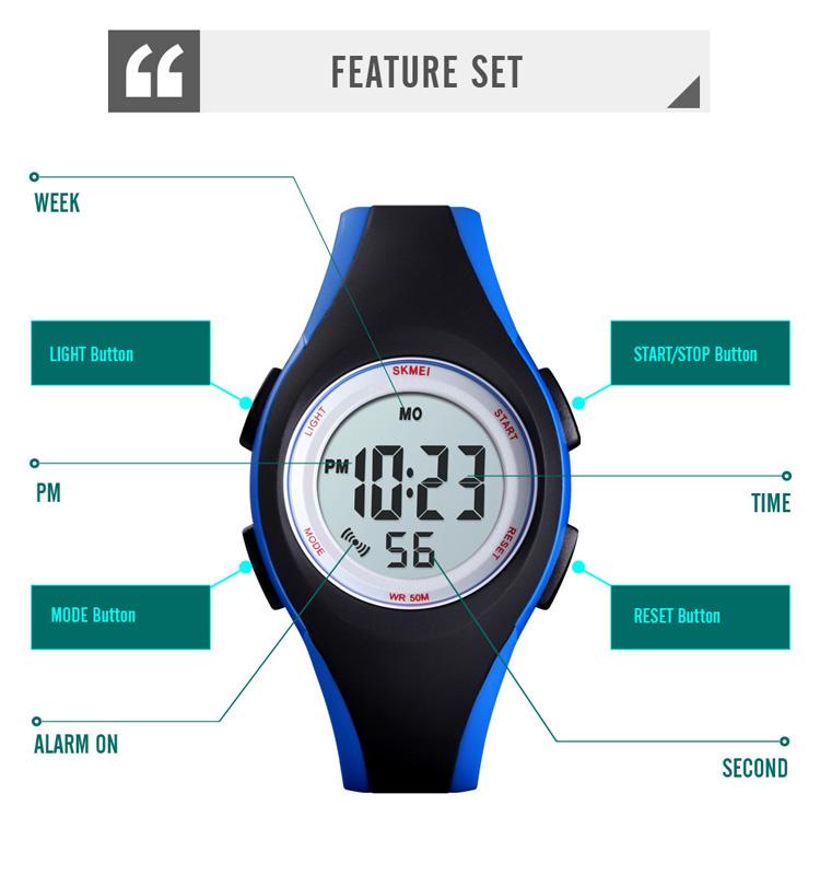 Đồng hồ đeo tay Skmei - 1459BU