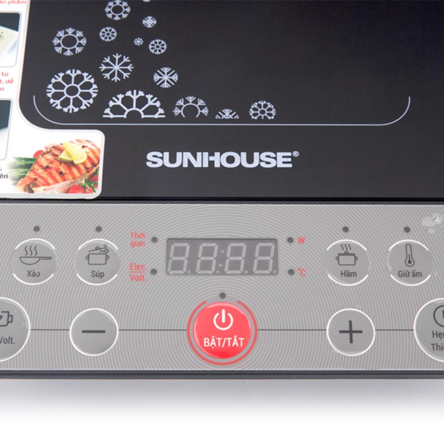 Bếp Từ Sunhouse SHD6152 - Tặng Kèm Nồi Lẩu - Hàng chính hãng