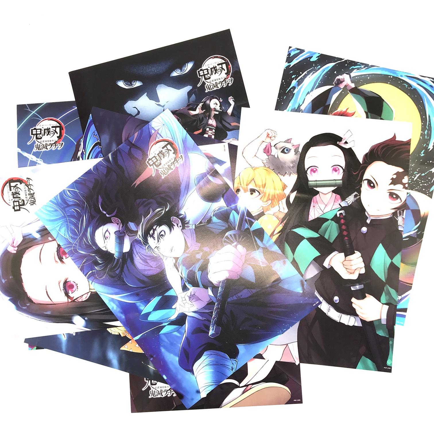 Bộ Poster Kimetsu no Yaiba