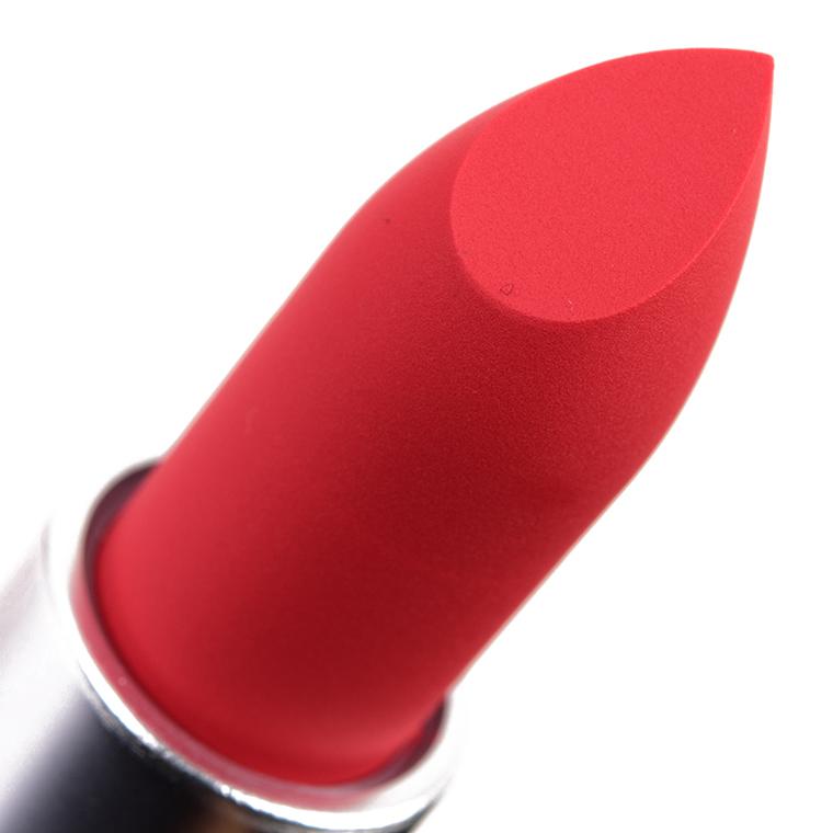 Mac Powder Kiss Lipstick 308 Mandarin O 3g