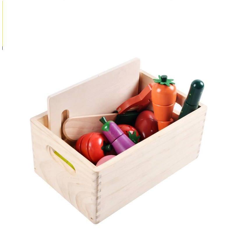 Đồ chơi gỗ dạng cắt ghép hoa quả