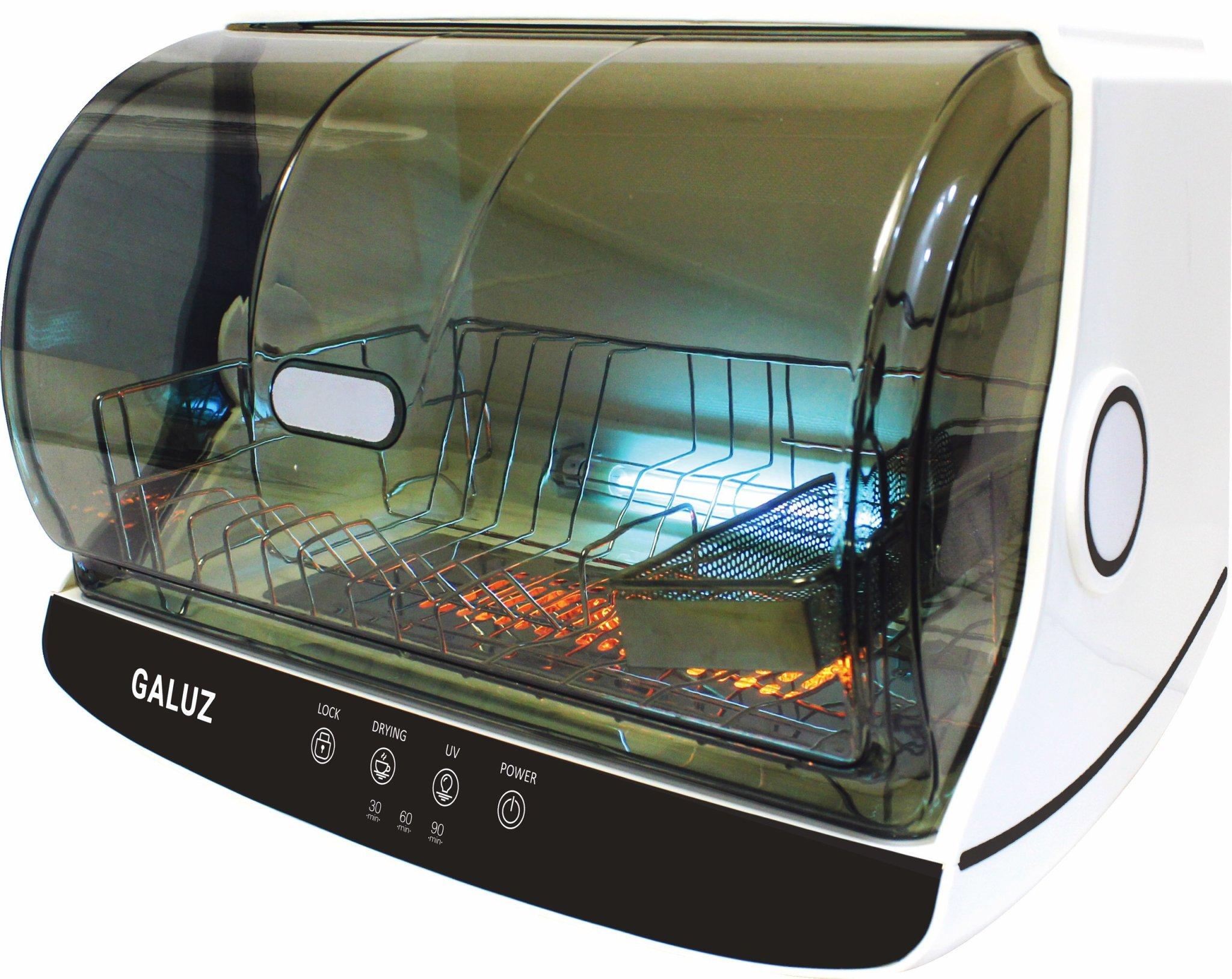 Máy sấy và diệt khuẩn UV bát đĩa Galuz model BJG-42 dung tích 30L, hàng chính hãng