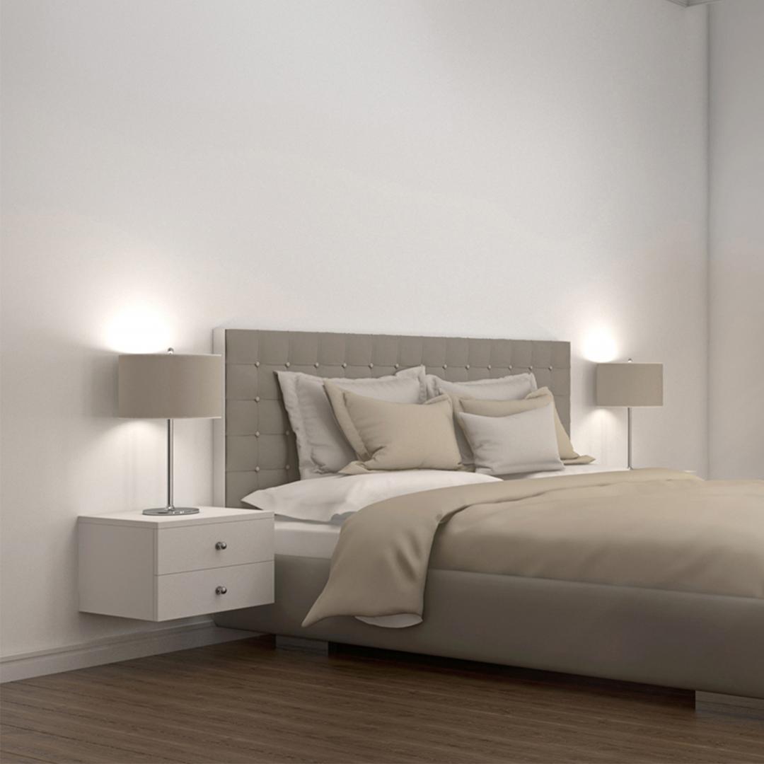 Tủ gỗ đầu giường hiện đại SMLIFE Naomi