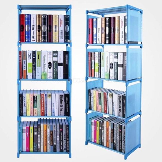 Kệ sách nhựa 4 tầng để sách