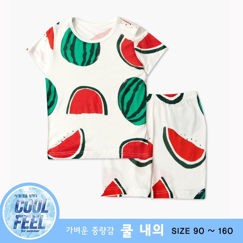 Bộ đồ ngắn tay mặc nhà cotton mịn siêu mỏng mát cho bé trai U3038- Unifriend Hàn Quốc, Cotton Organic