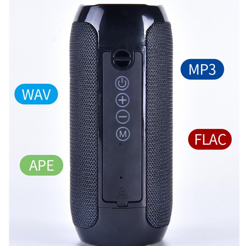 Loa loa không dây ngoài trời Bluetooth di động chống nước 5W - Hàng Chính Hãng PKCB