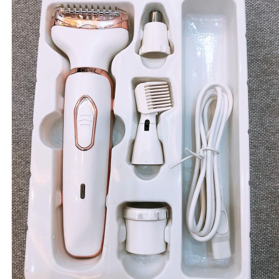 Bộ dụng cụ vệ sinh cá nhân Hàn Quốc RF-3021, cạo lông, cạo râu, tỉa lông mũi, tỉa lông mày