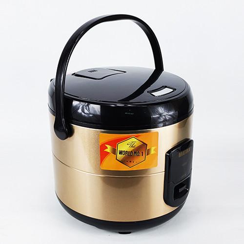 Nồi cơm điện Matika MTK-RC1896 công nghệ ủ 3D hiện đại cho cơm ngon tròn vị (Hàng chính hãng)