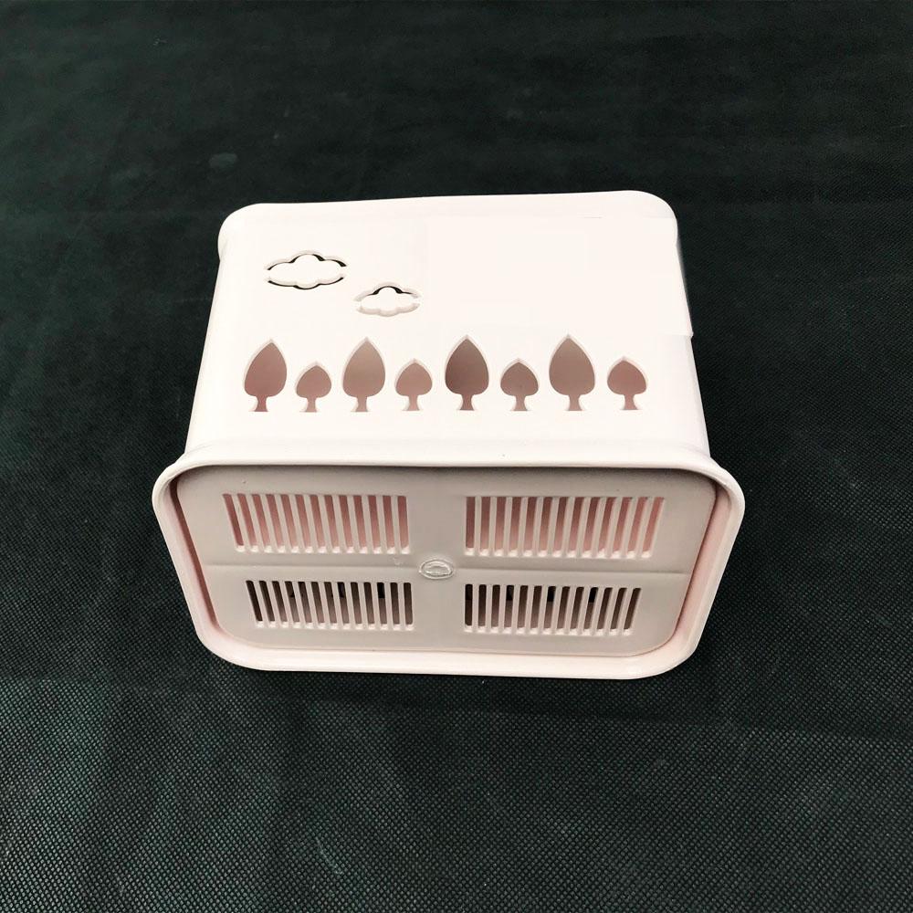 Ống đựng đũa,dao,muỗng 4 ngăn đa chức năng màu sắc dịu dàng chất  liệu nhựa PP siêu bền được sản xuất theo công nghệ Nhật Bản  Gelife SRV01041