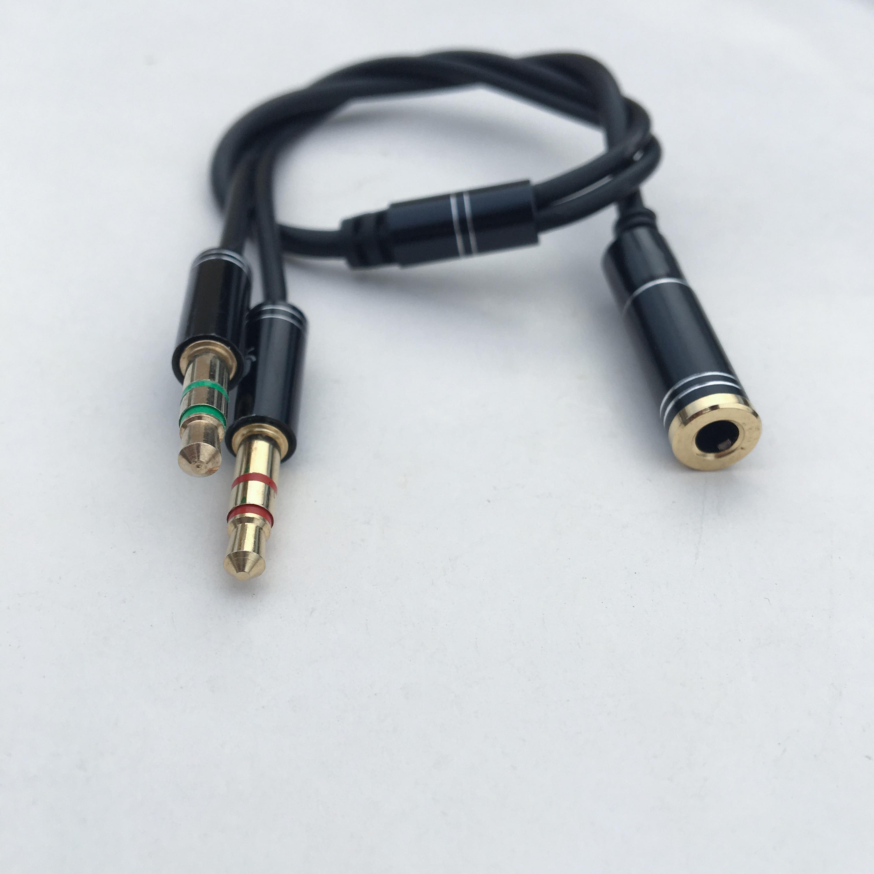 Cáp gộp Audio và mic ra 1 cổng 3.5mm