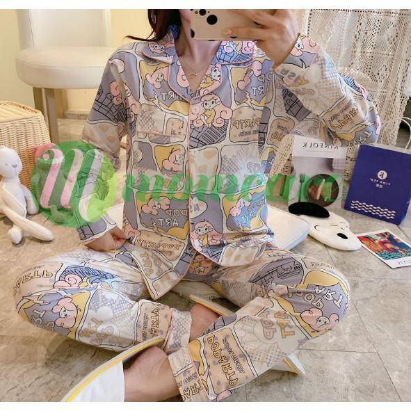 Bộ bầu sau sinh - Đồ bộ ngủ bầu đẹp mặc nhà - Quần áo thời trang mùa hè cho mẹ Bigsize