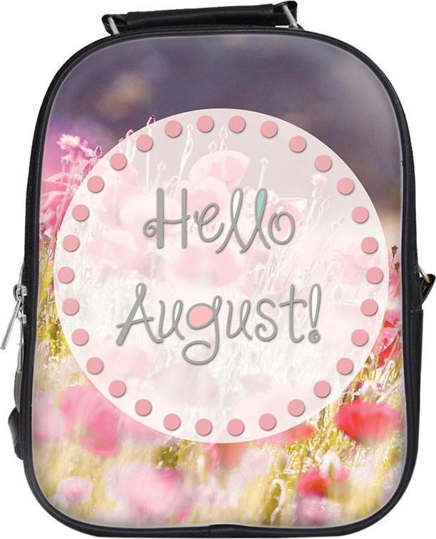 Balo Unisex In Hình Hello August - BLTE041 Nhỏ