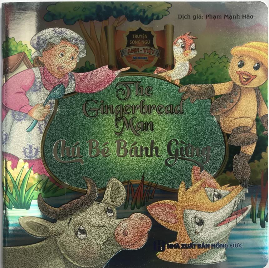 Combo bộ sách ăn dặm kiểu nhật, phương pháp ăn dặm bé chỉ huy và ăn dặm không phải cuộc chiến tặng truyện song ngữ bìa mềm Chú bé bánh gừng