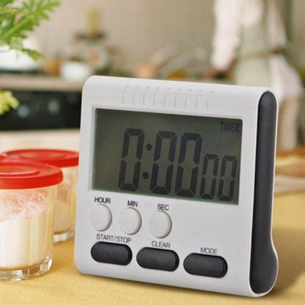 Đồng Hồ Điện Tử Mini V3 Bấm giờ Hẹn giờ Đếm ngược Báo Thức Giúp Nấu ăn Thể Thao Đấu Giá thí nghiệm thẩm mỹ viện hội họp