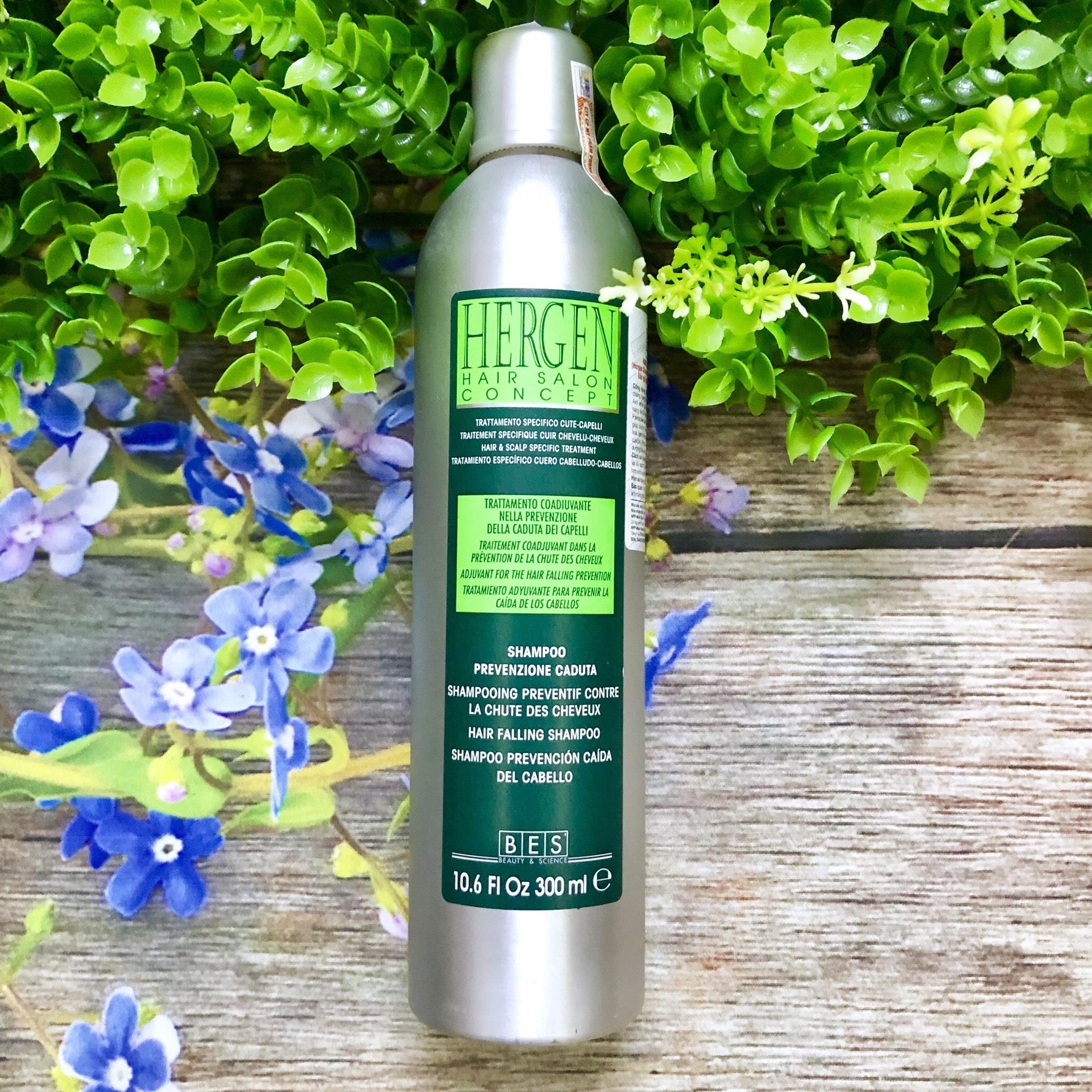 Dầu gội ngăn rụng tóc BES BEAUTY & SCIENCE Hergen shampoo prevenzione caduta 300ml