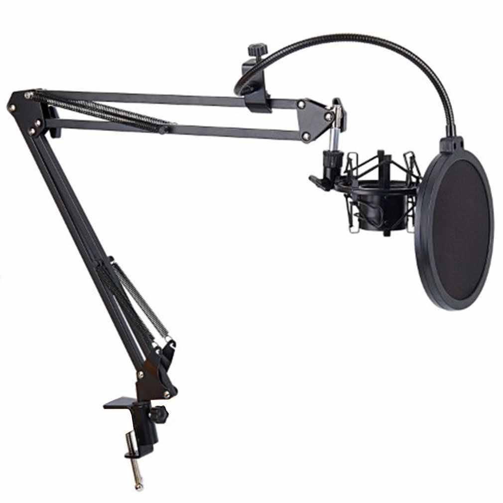 Chân đế kẹp Micro NB35 tặng kèm màng lọc âm (chuyên dành cho phòng thu âm)