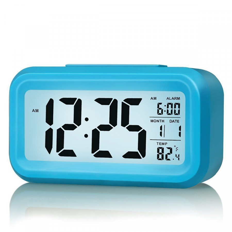 Đồng hồ báo thức cảm biến phát sáng trong đêm