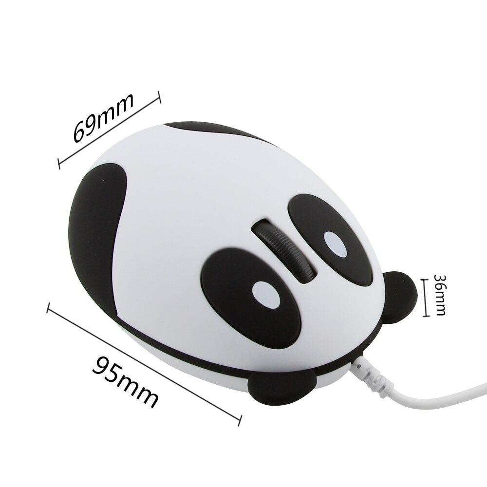 Chuột có dây mini Panda Mouse
