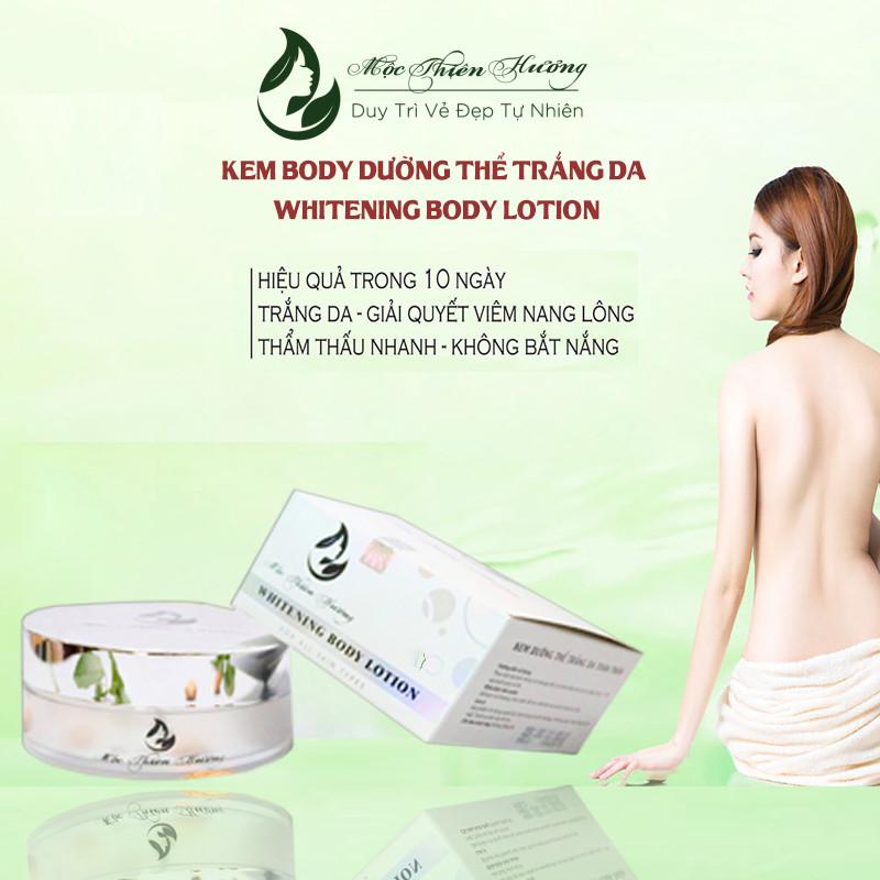 Kem Body Dưỡng Thể Trắng Da Sau 7 Ngày Whitening Body Lotion - Mộc Thiên Hương