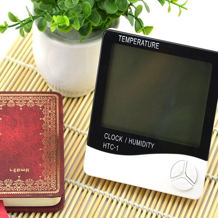 Máy đo nhiệt độ, độ ẩm trong phòng HTC - 1 ( kèm pin )