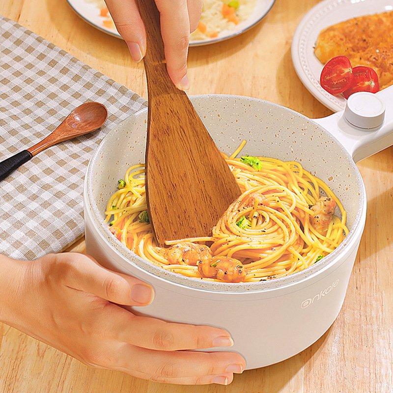 Nồi điện đa năng chiên sào nấu lẩu nấu mỳ DM8088 ( đi kèm ổ điện đa năng )