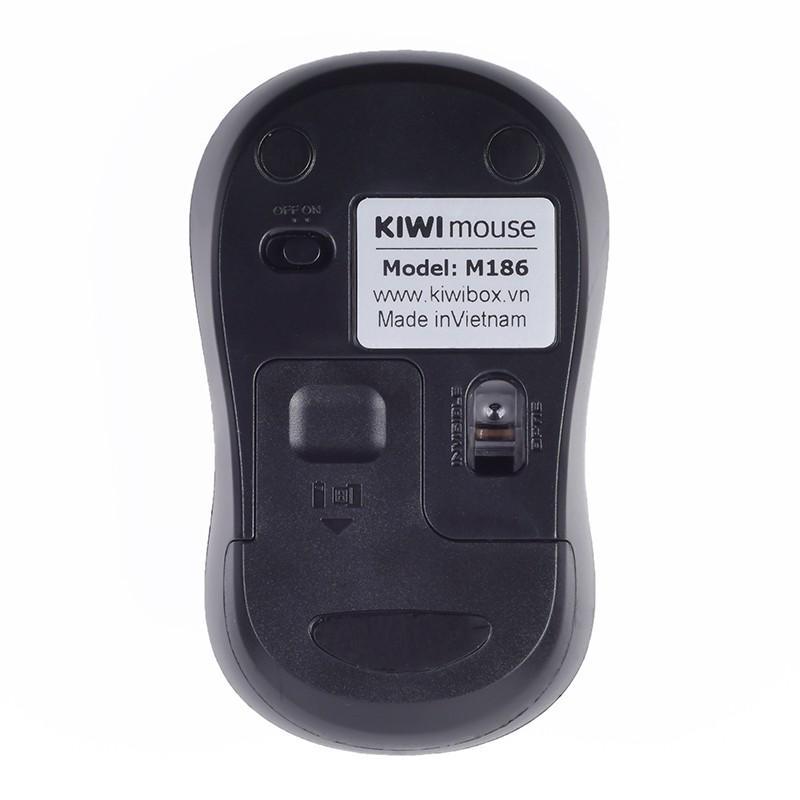 Chuột không dây Kiwi M186 CHÍNH HÃNG tặng kèm pin AA