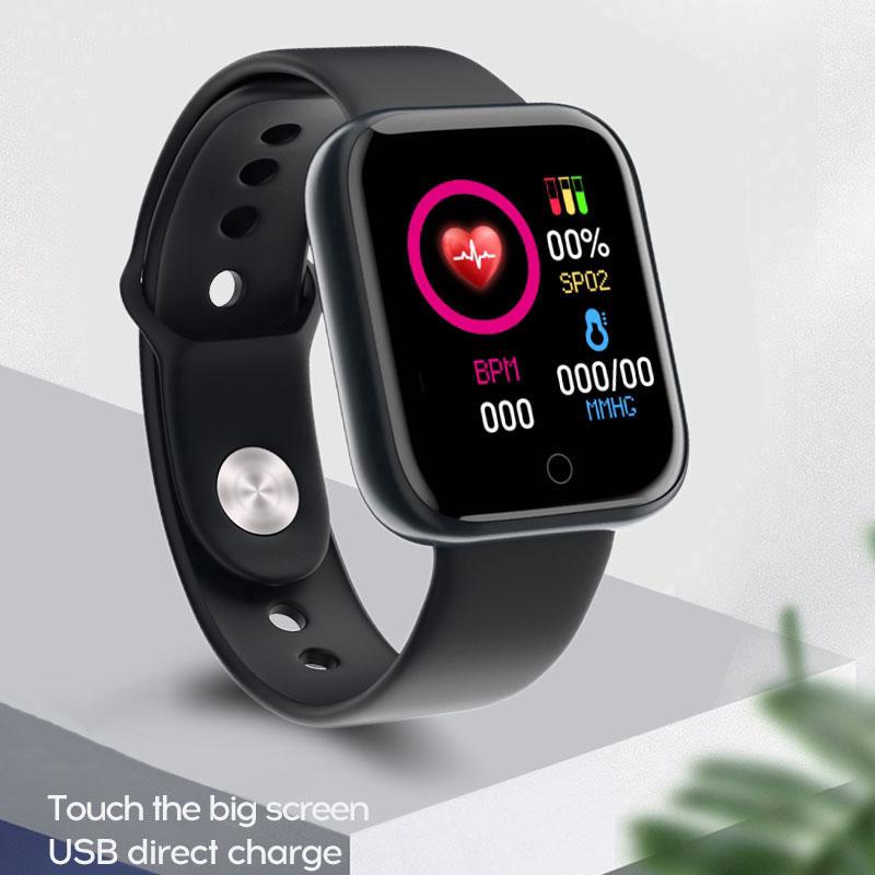 Đồng Hồ Nam Nữ Smart Watch Kết Nối Di Động Cảm Ứng Đa Chức Năng DHY68